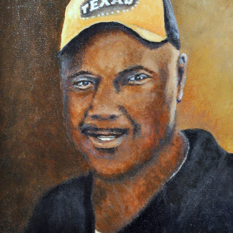 memorial portrait painting